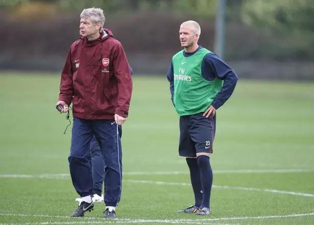 Wenger: I Was Interested In Bringing Beckham To Arsenal