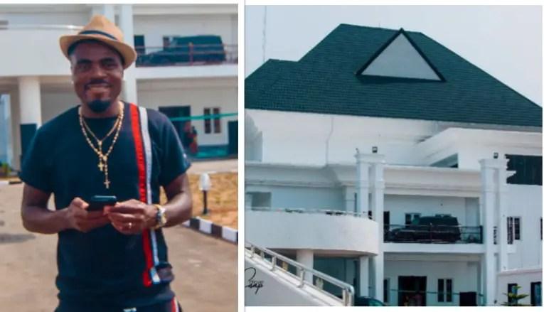 Emenike Flaunts Multi-Million Naira Mansion In Imo State