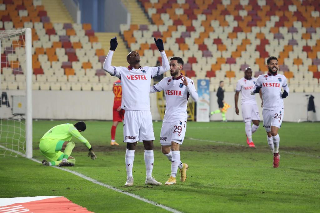 Turkish Super Lig: Nwakaeme On Target As Trabzonspor Beat Yeni Malatyaspor Away To Continue Winning Run