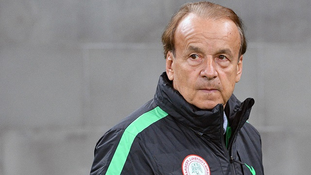 Rohr Lists Condition For Inclusion Of Home Based Players In Super Eagles
