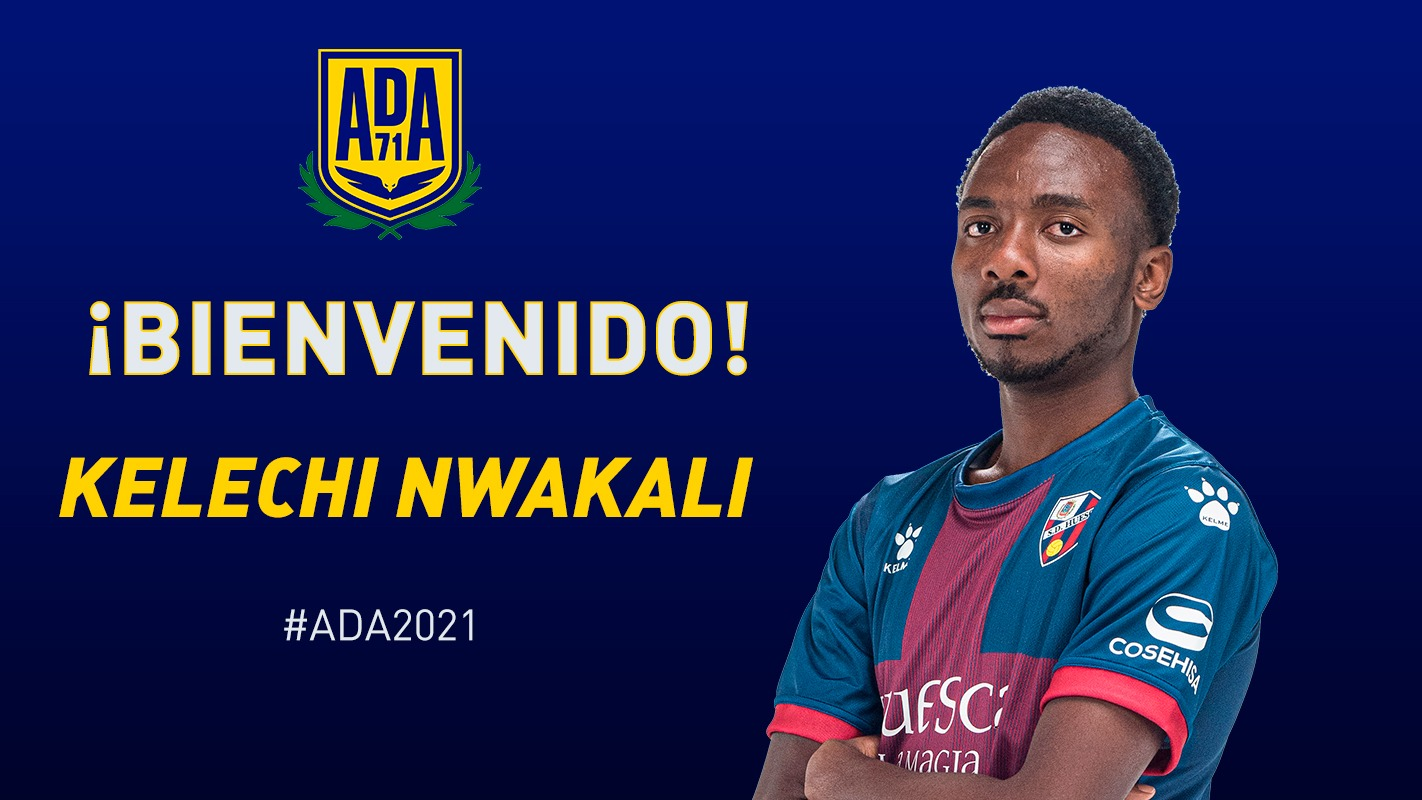 Nwakali Joins Spanish  Segunda Division Club CD Alcorcon On Loan