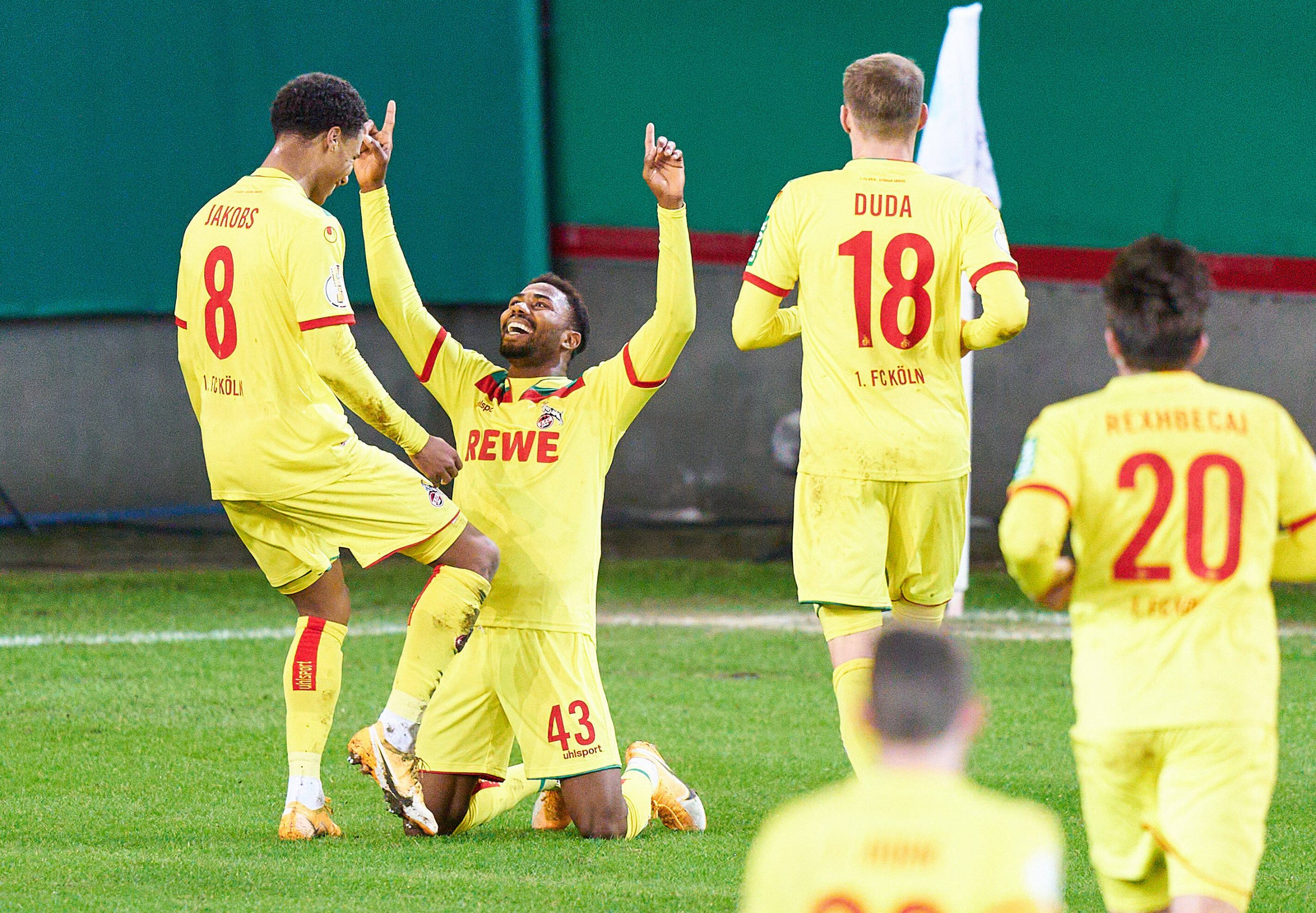 German Cup: Dennis Scores Misses Penalty As Cologne Lose To Second Division Club