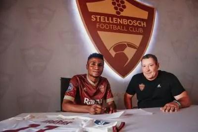 Ex- Eaglets Star Ibraheem Jabaar Joins South African Club Stellenbosch