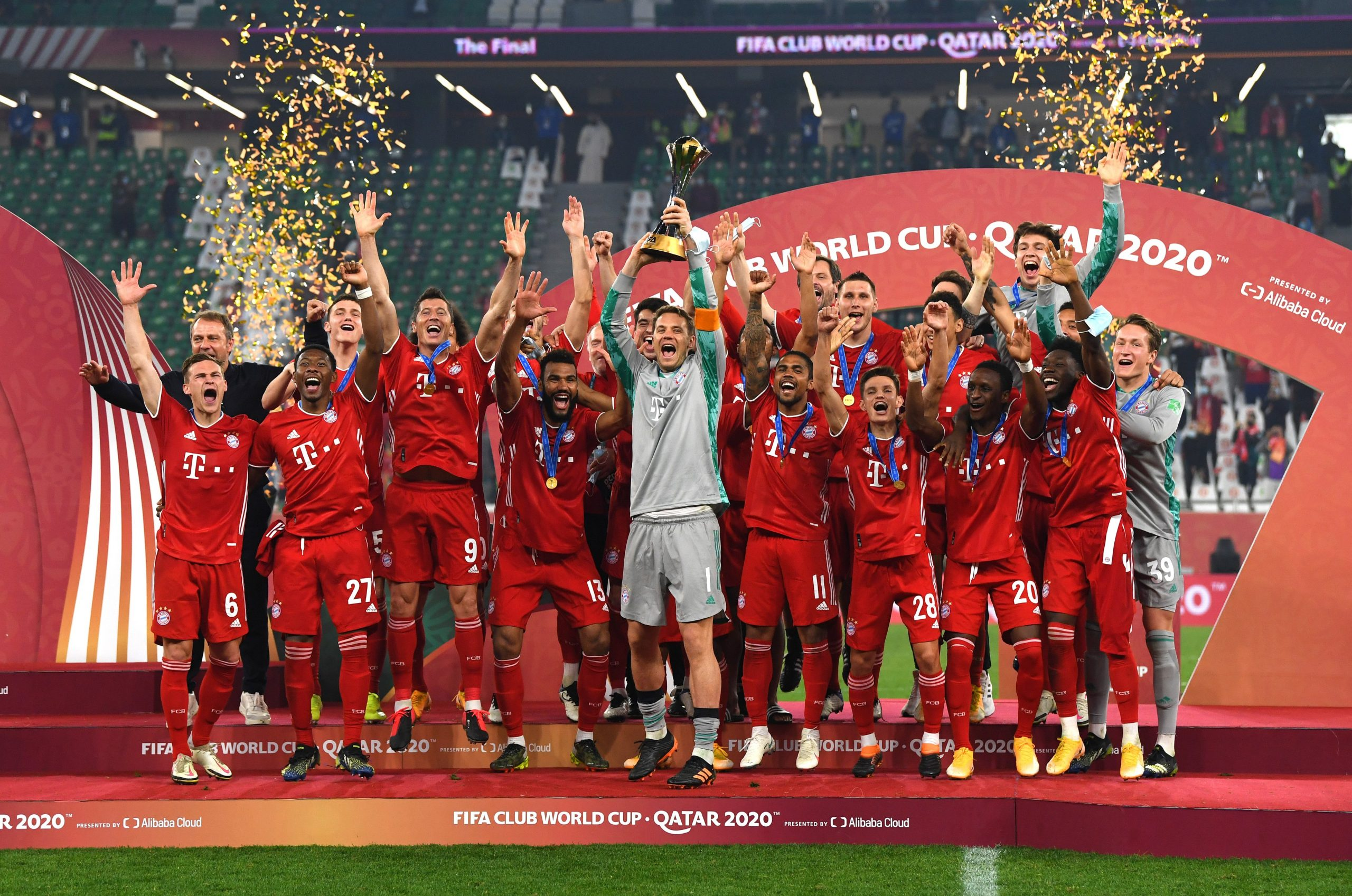 Bayern Crowned World Champions; Secure Sixth Title Of The Season