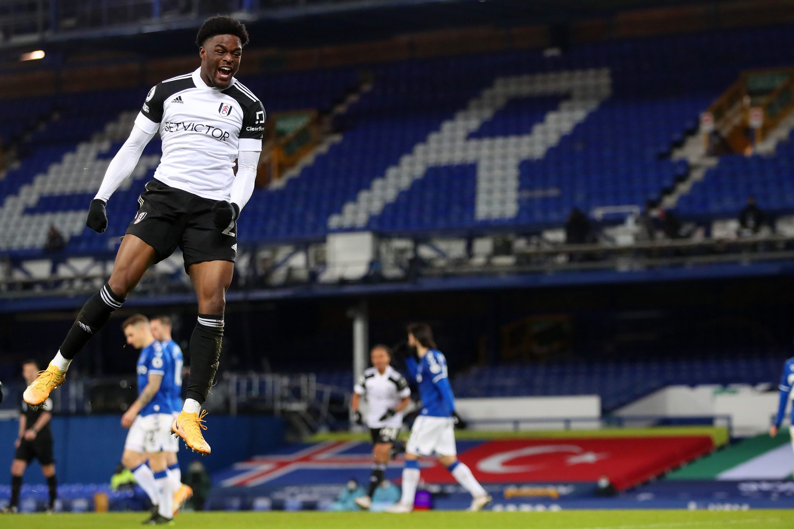 Premier League: Maja Bags Brace As Fulham Beat Everton Away