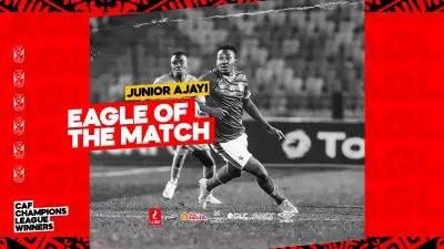 Ajayi Named Man Of The Match In Al Ahly's Win Vs Al Merrikh