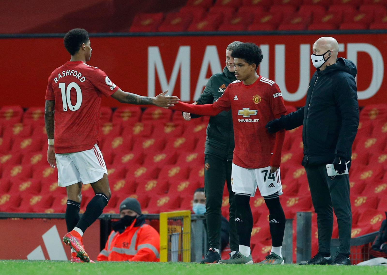Shoretire Unhappy Manchester United Debut Happened Without Fans