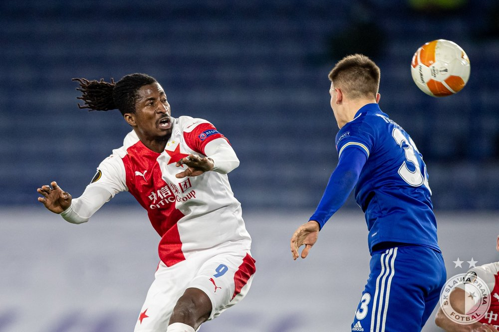 Europa League Round Of 32: Olayinka Provides Assist, Helps Slavia Prague Knock Leicester City Out