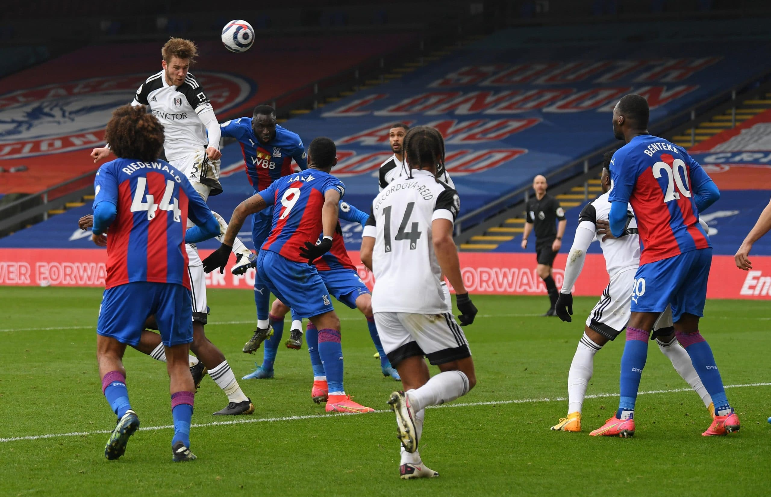Premier League : Maja, Lookman Caged As Crystal Palace Hold Fulham