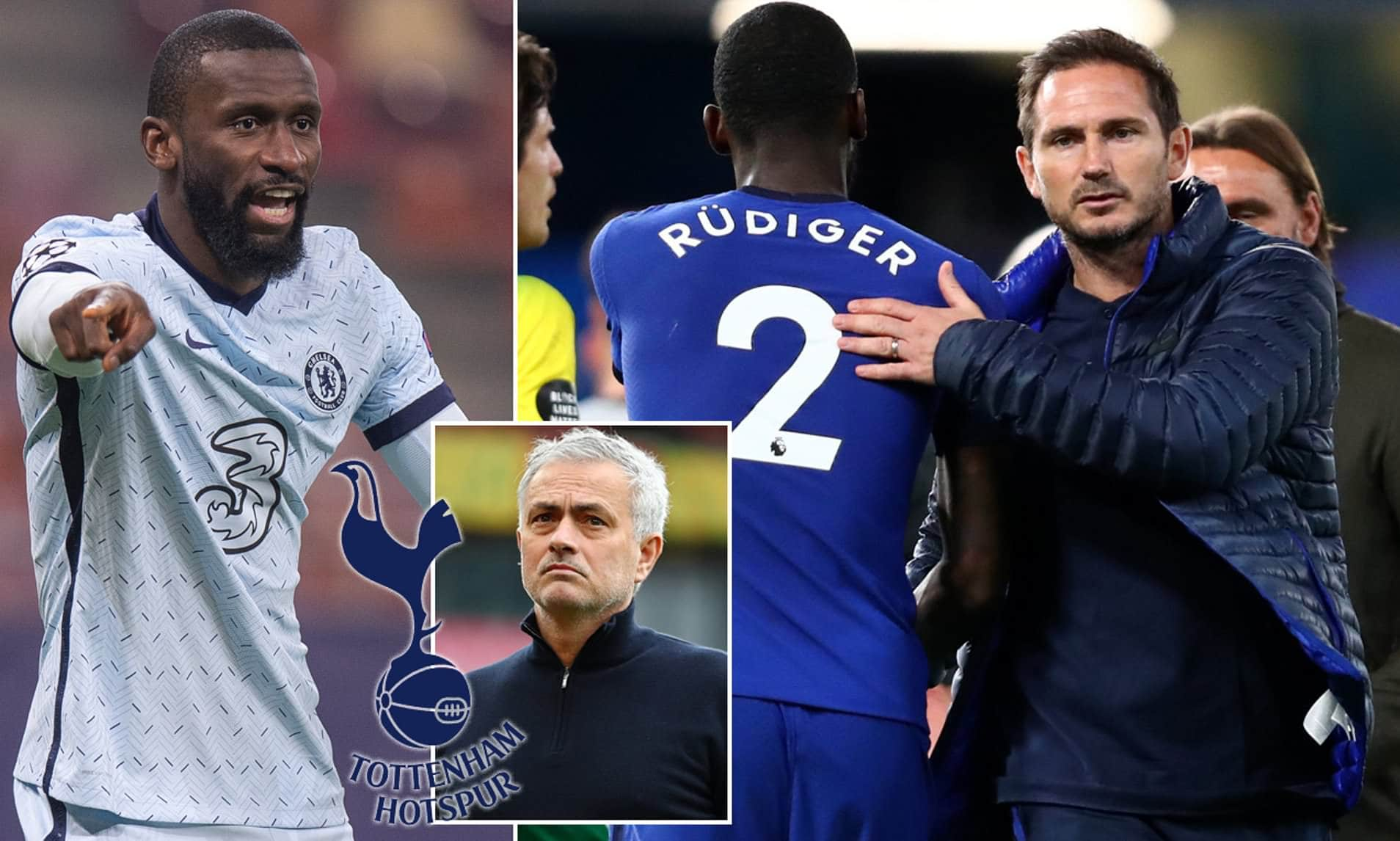 Rudiger Held Talks With Mourinho Over Tottenham Hotspur Move