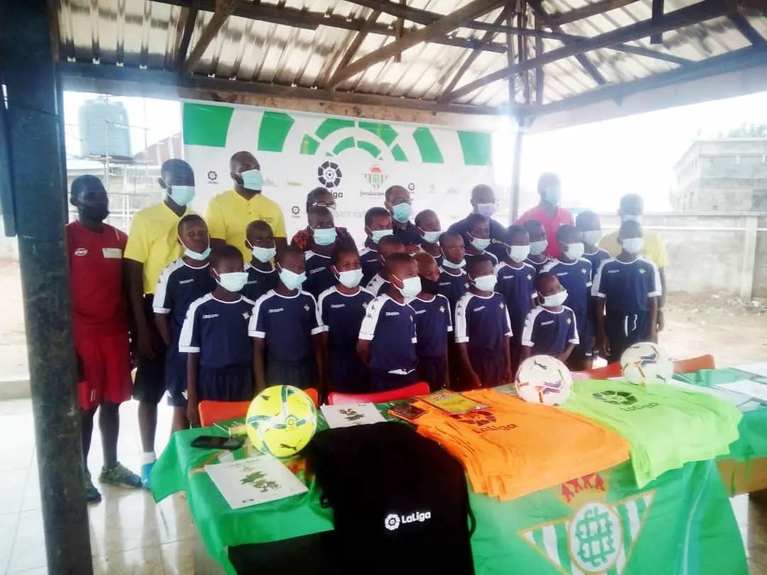 Real Betis Partner Daraya Sports, Safe Haven Football Academy To Uplift Grassroots Football In Nigeria