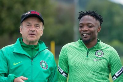 Finidi Faults Rohr Over Musa's Inclusion For AFCON Qualifiers