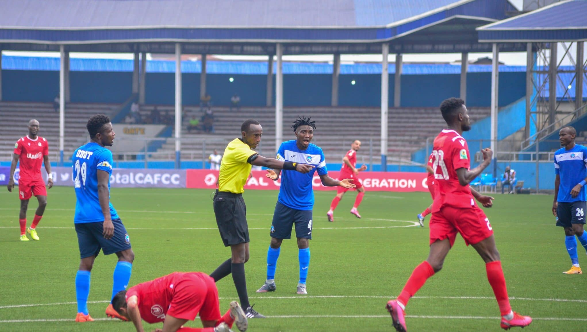 CAF Confederations Cup: It's Too Early To Celebrate Enyimba's Victory – Unuanel Warns