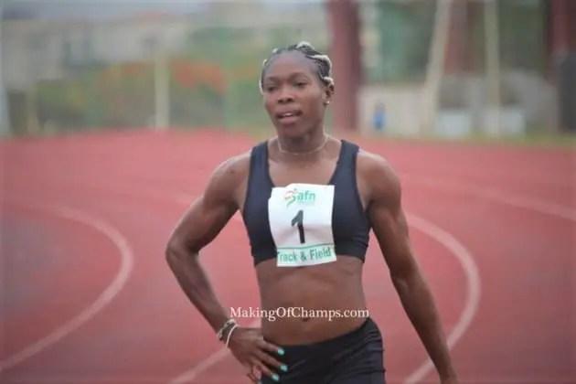 Incredible Nwokocha Is World's Fastest Woman