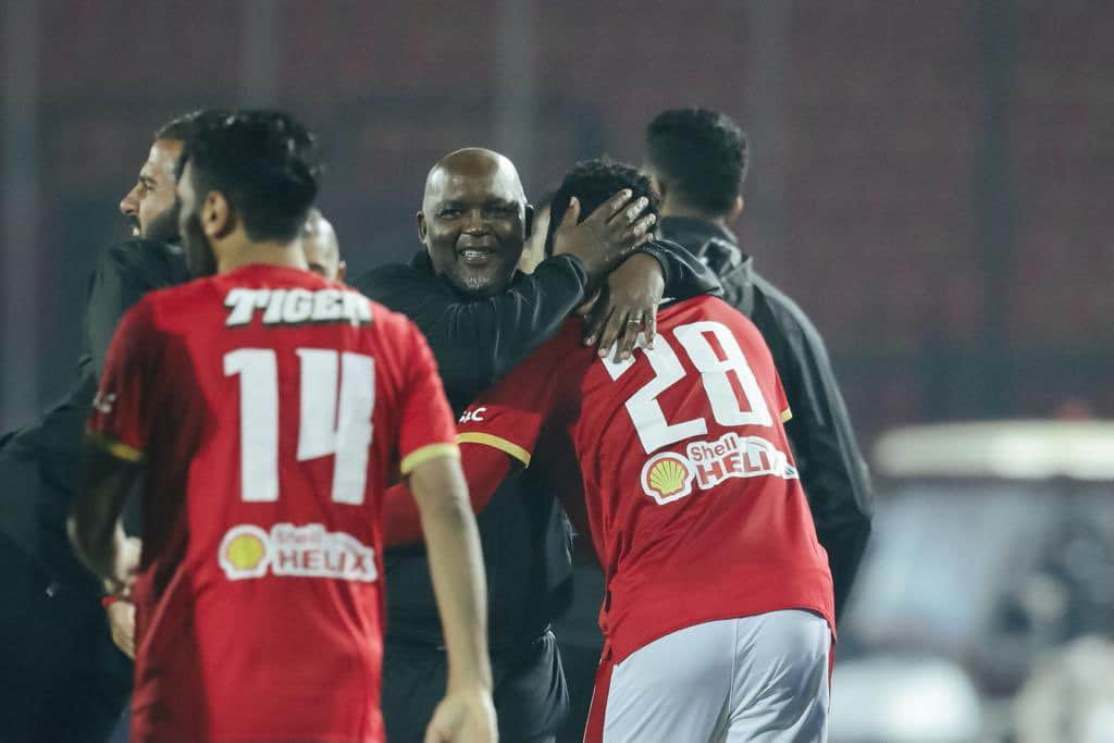'One Of The Key Players In The Team'-  Mosimane Thumbs Up Al Ahly's Brace Hero Ajayi