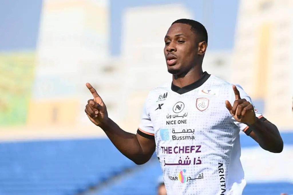 Ighalo Relishes Al Shabab's  Win Against Damak