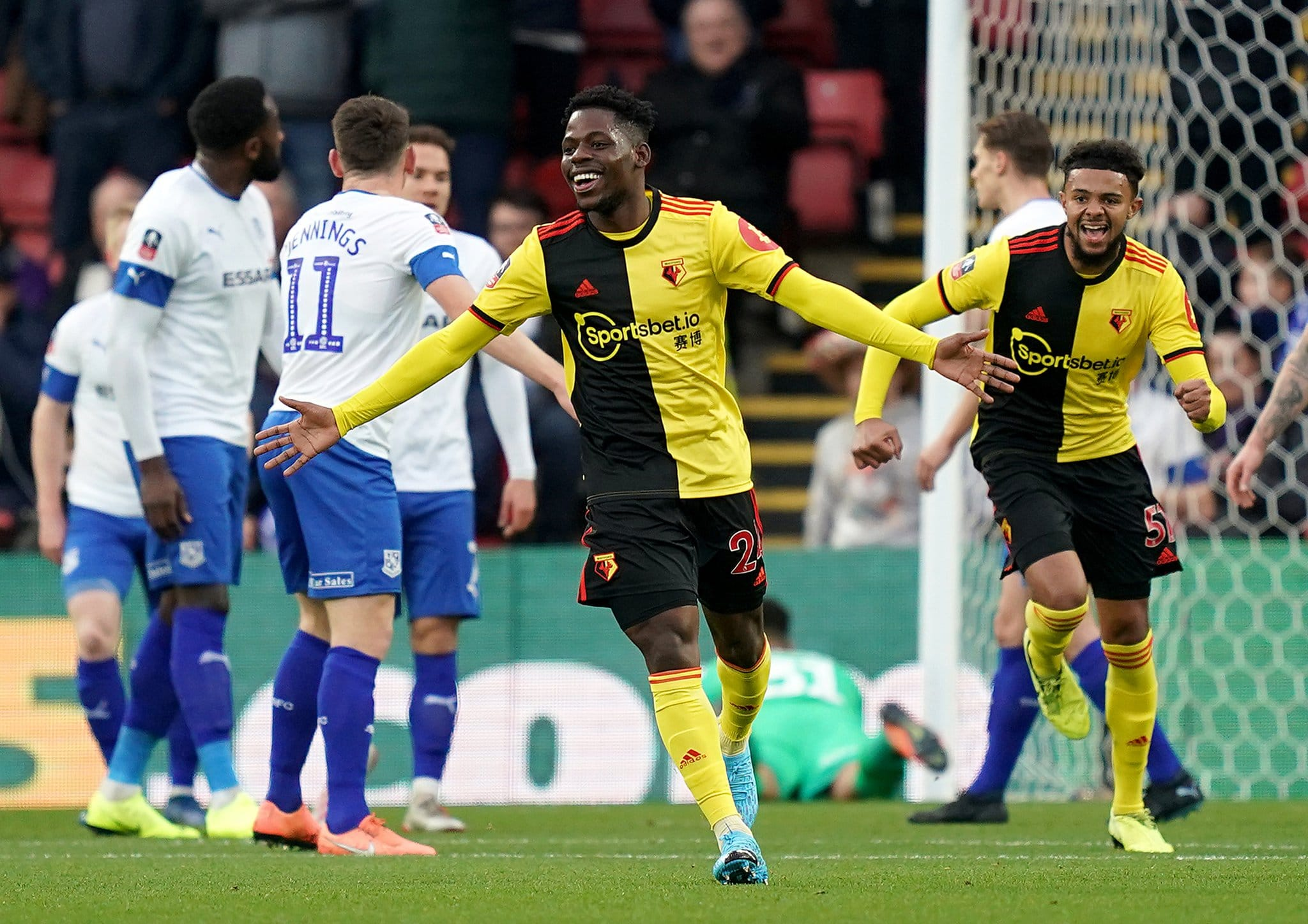 Dele-Bashiru Delighted To Score For Watford  After Recovering From Injury