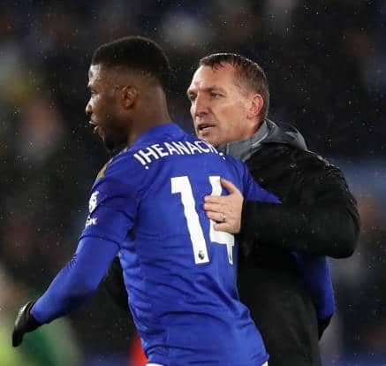 Rodgers Hails 'Ultimate Professional' Iheanacho