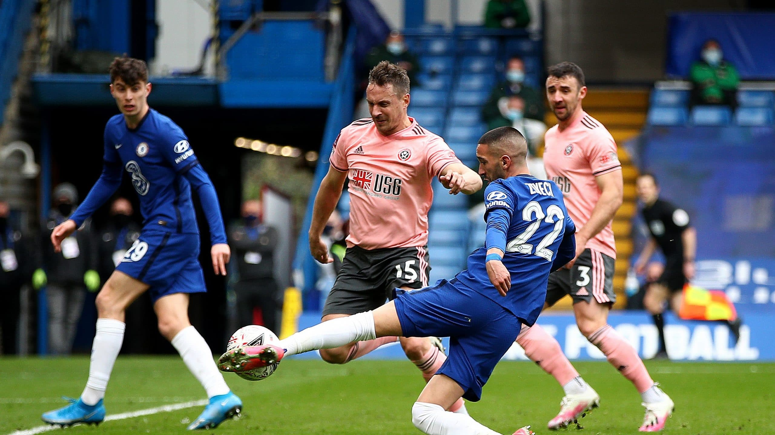 Chelsea 2-0 Sheffield United : Blues Stop Blades To Reach FA Cup Semi-Finals