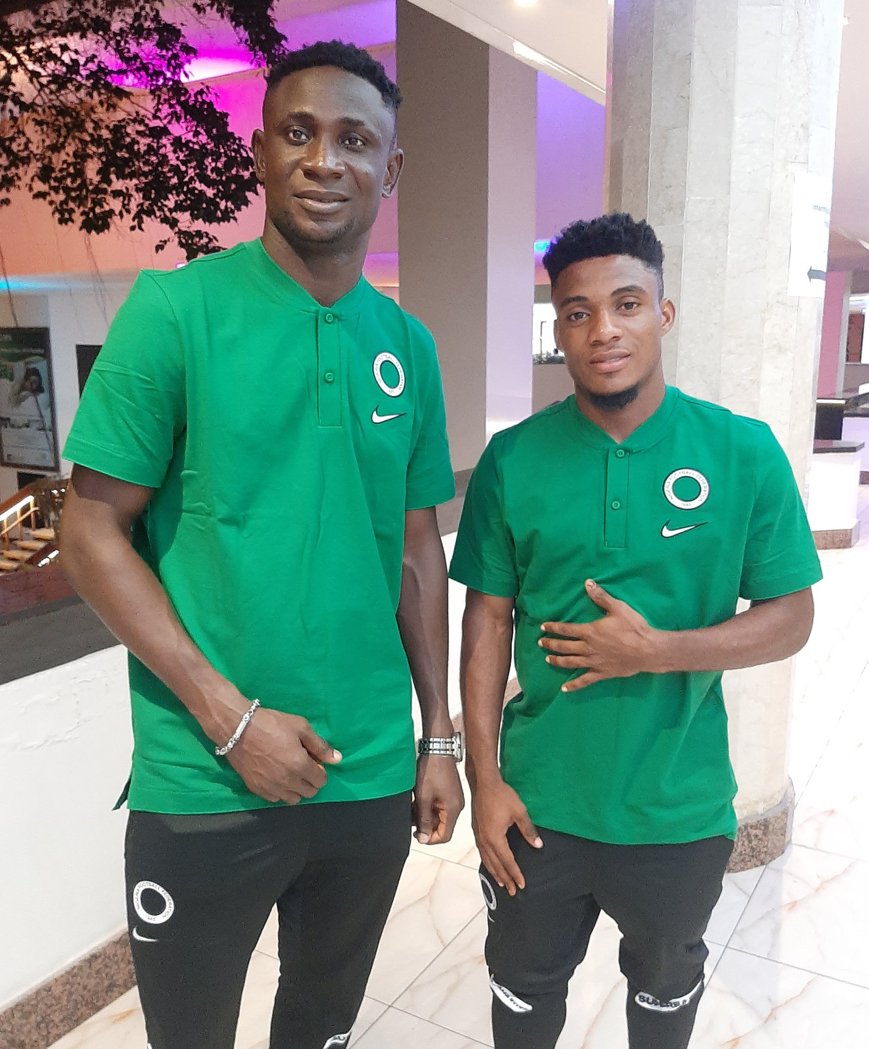 Super Eagles Camp Comes Alive As More Players Arrive For AFCON Qualifiers