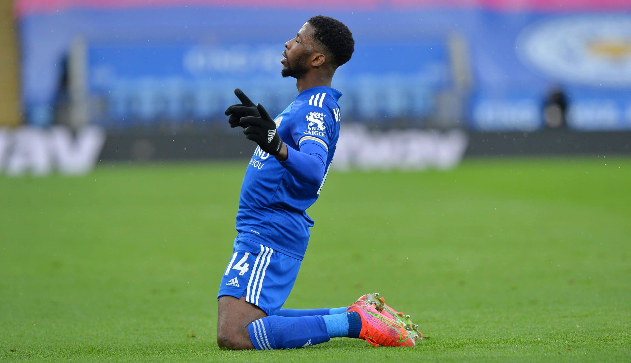 Iheanacho Battles Kane, Mahrez, Others For Premier League Player Of The Month Award
