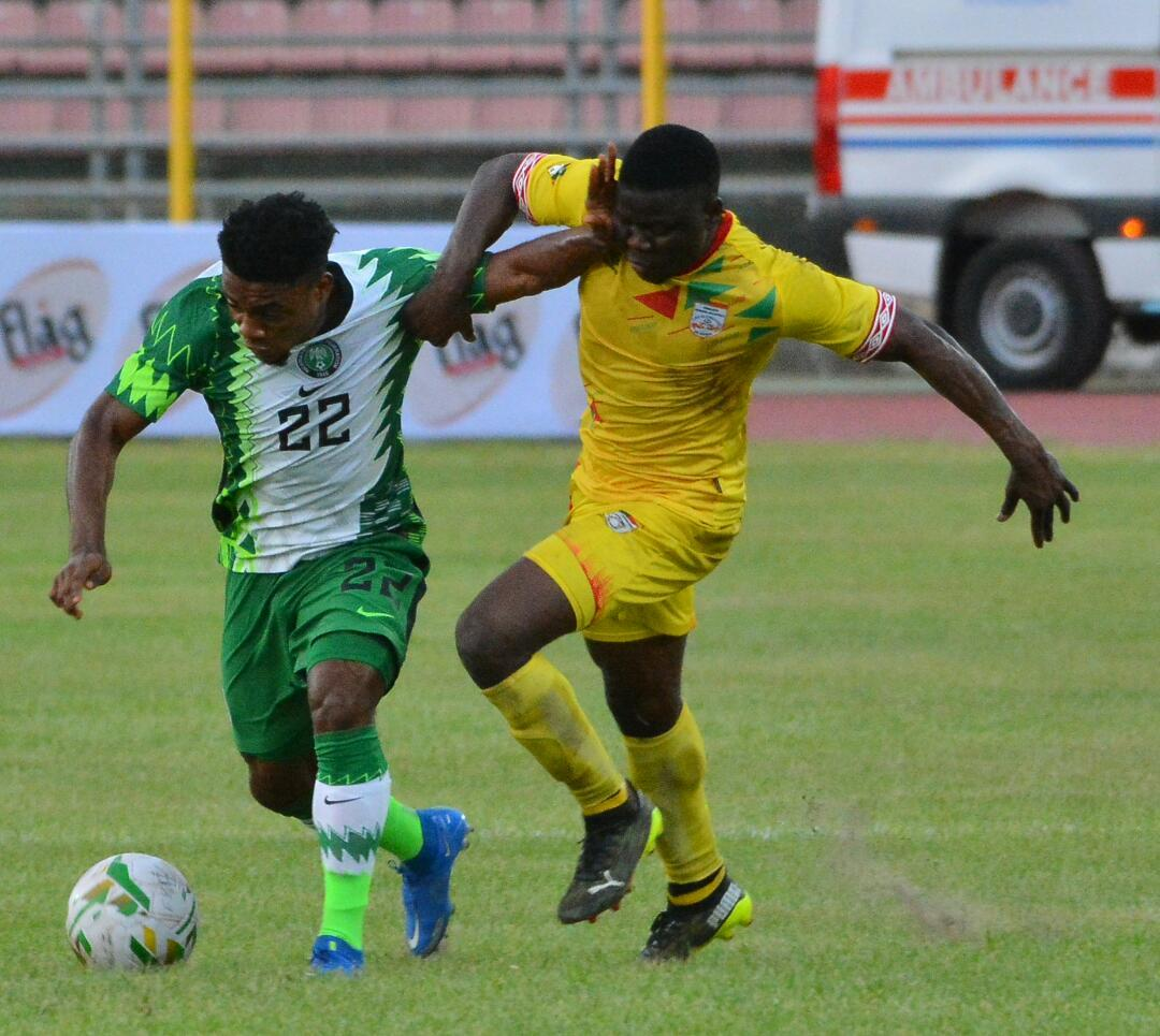 Iwuala Thrilled To Make Super Eagles Debut