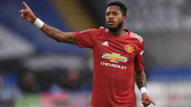 Fred Racially Abused After Man United FA Cup Defeat To Leicester
