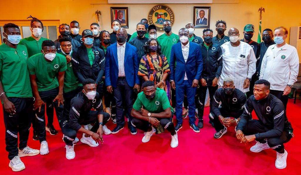 2021 AFCON Qualifiers: Sanwo-Olu Charges Super Eagles To Beat Benin, Lesotho