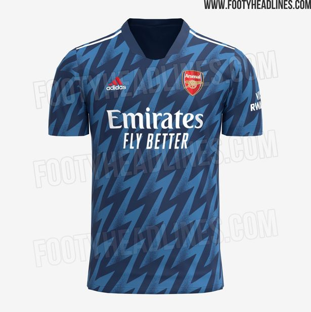 Arsenal's New Third Kit For 2021/22 Season Leaked Online