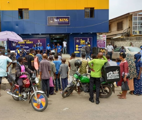 Begi Opens Another BetKing Mega Store In Surulere