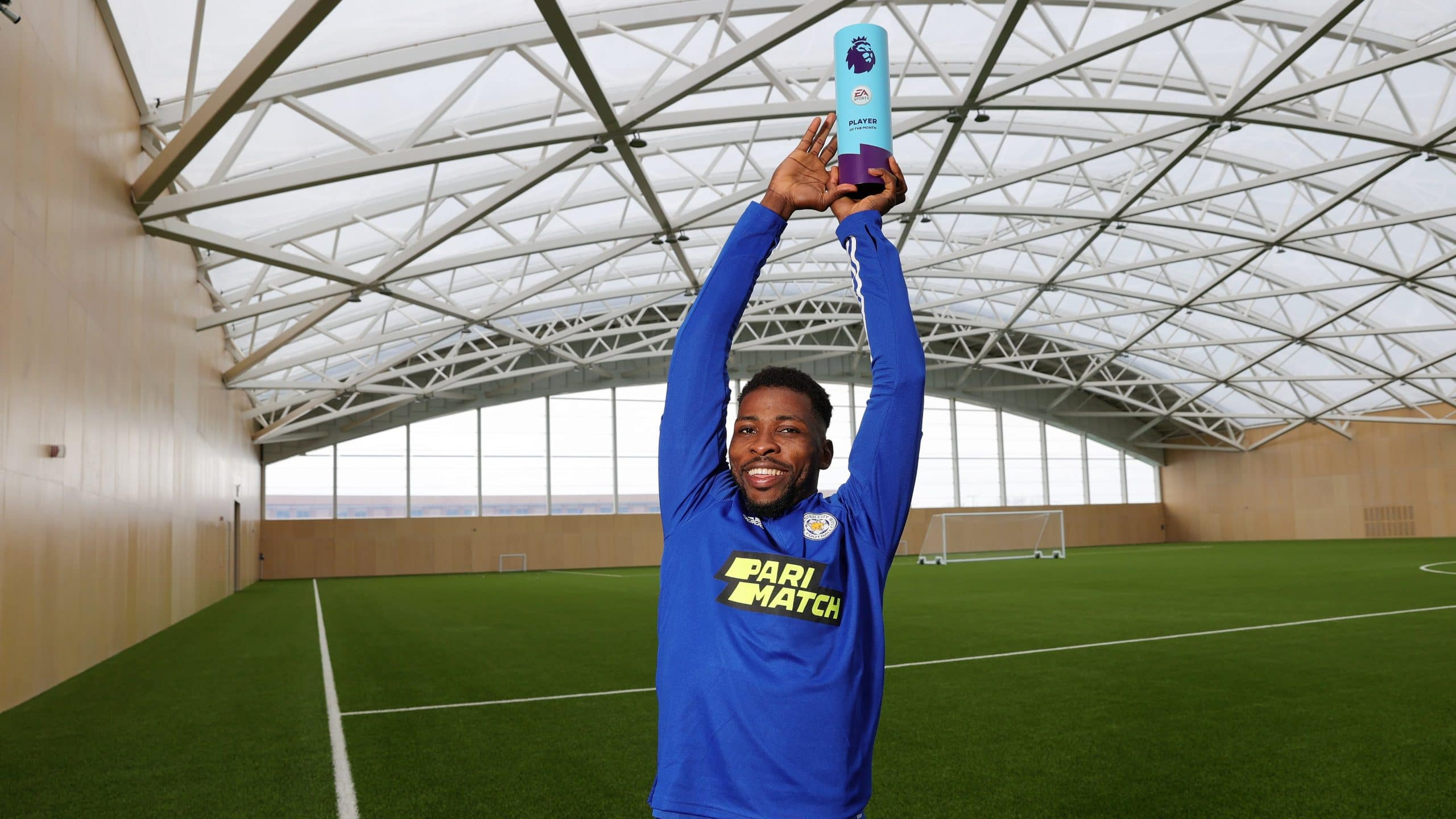 Iheanacho Thrilled To Win Premier League  Player Of The Month Award