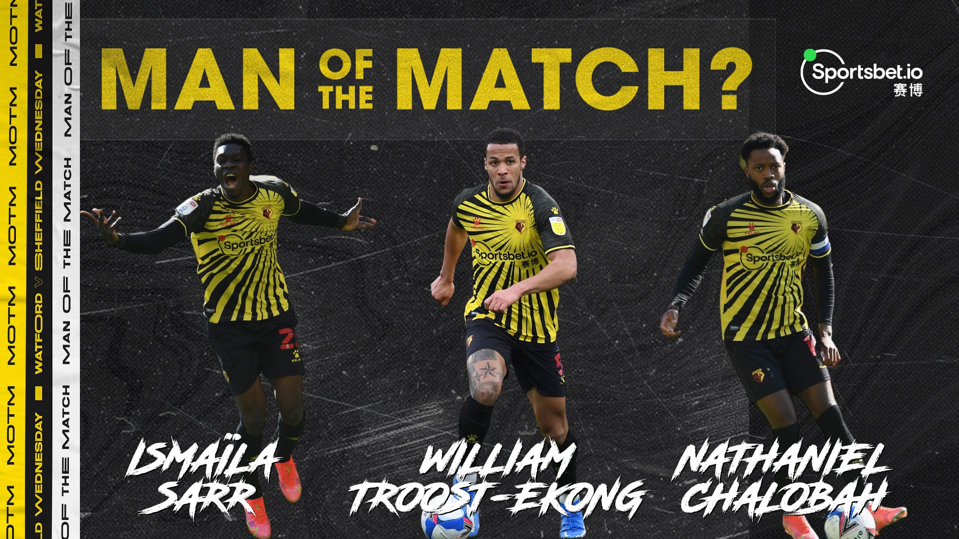 Troost-Ekong Nominated For Watford MOTM Award After Win Vs Sheffield Wednesday