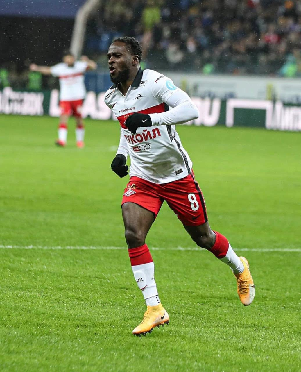 Moses Thrilled To Score On Spartak Moscow Return