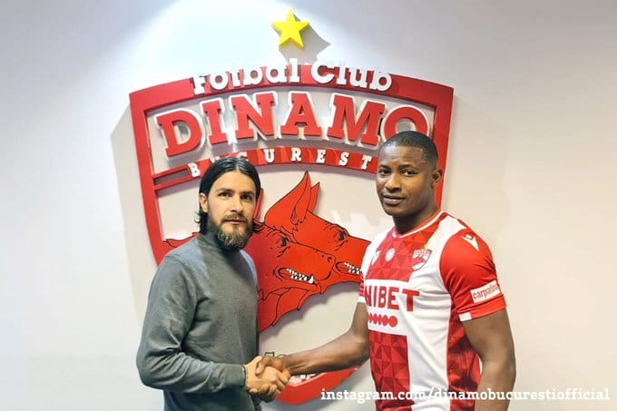 Akpala Joins Romanian Club Dinamo Bucharest On Short-Term Contract