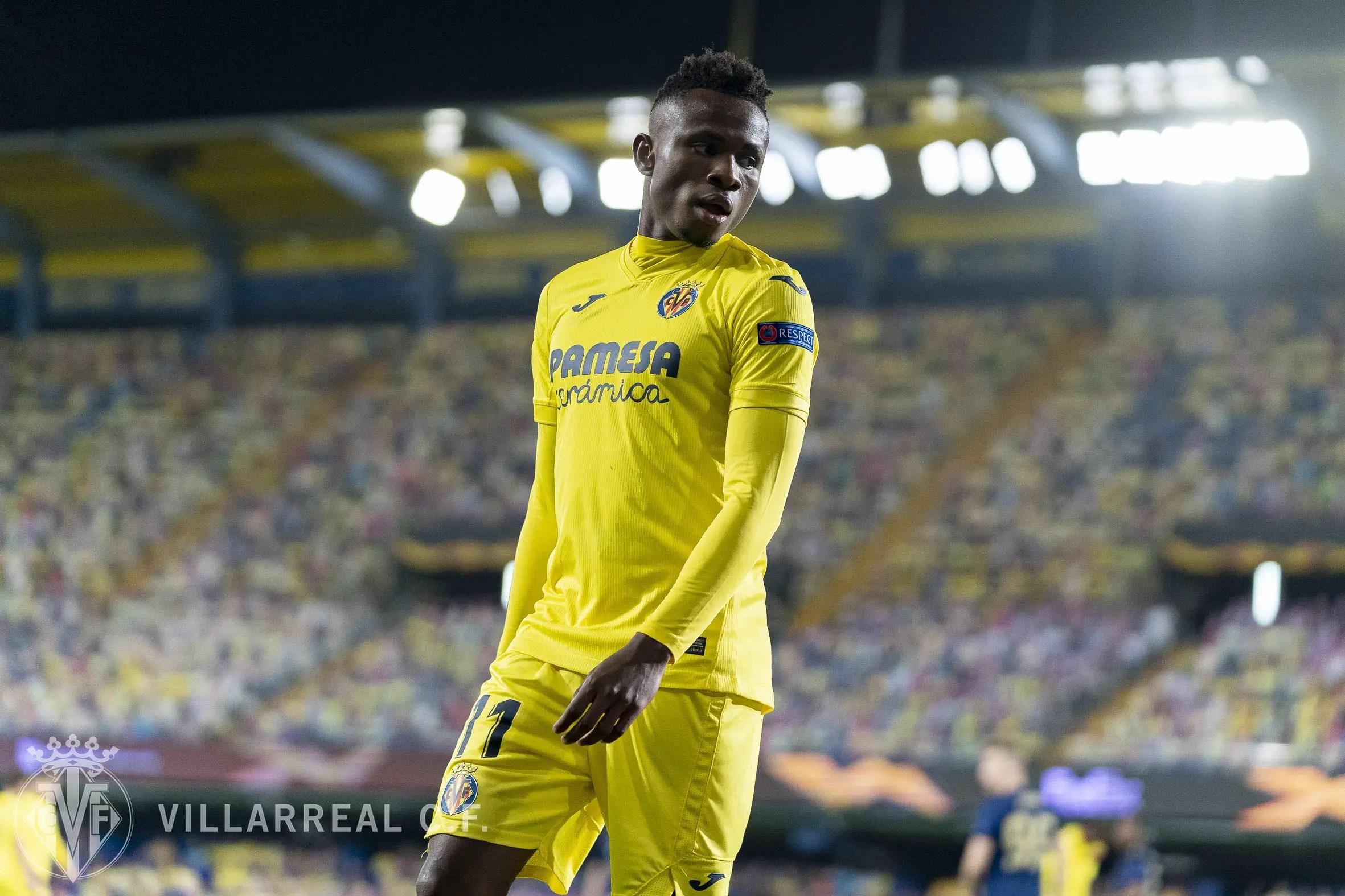 Chukwueze Makes Europa League Team Of The Week