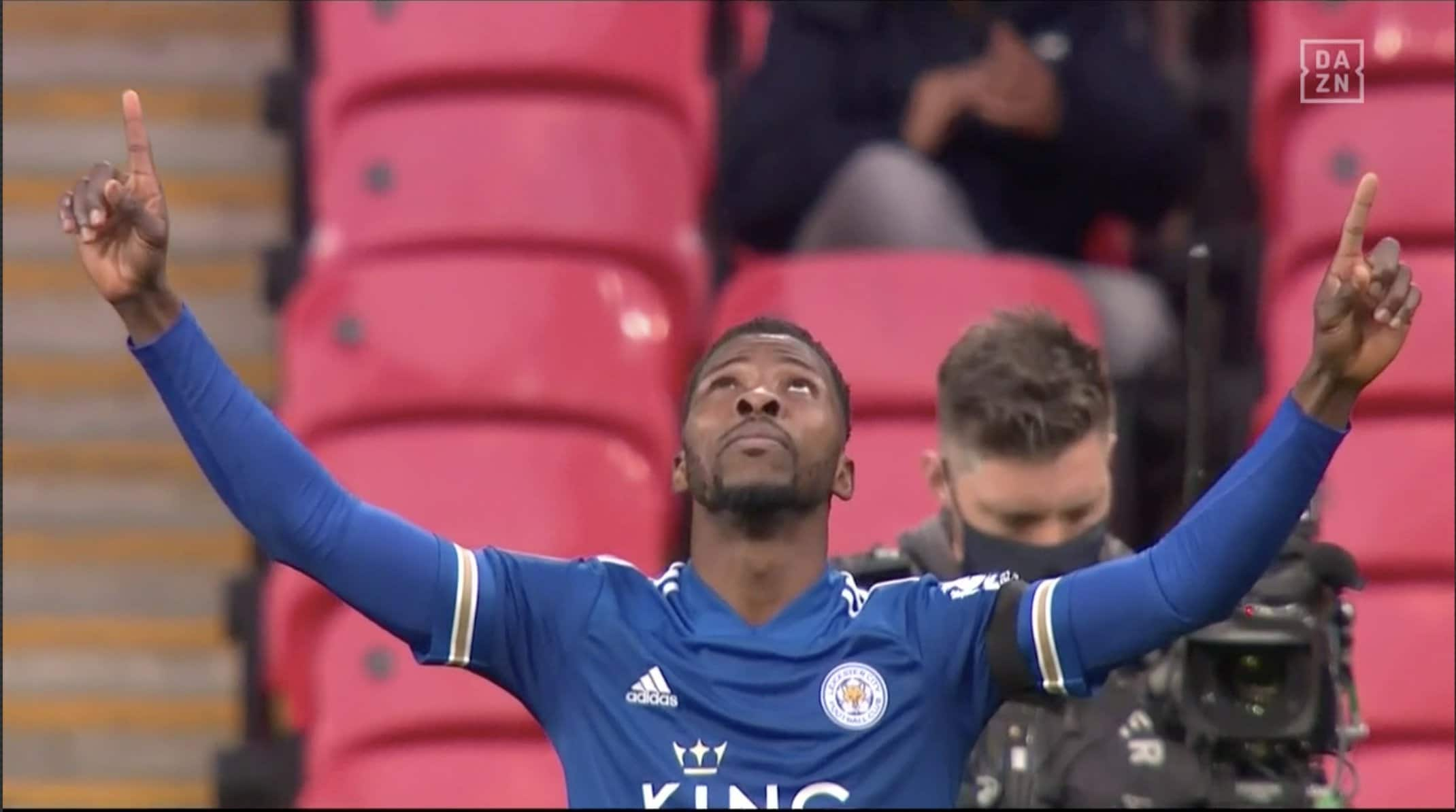 Iheanacho Named Man Of The Match In Leicester's FA Cup Win Vs Southampton