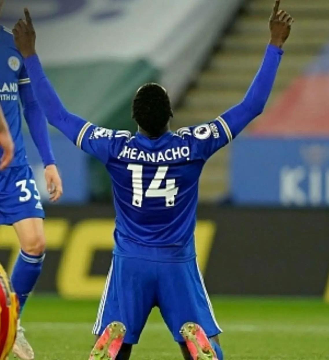 Premier League: Iheanacho Strikes Again As Leicester Thrash West Brom To Boost Top-Four Hopes