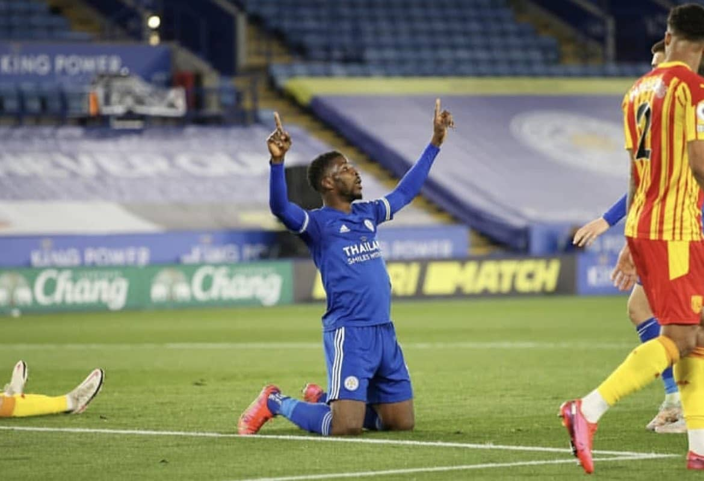 Iheanacho Celebrates Leicester's 'Massive Three Points' Vs West Brom