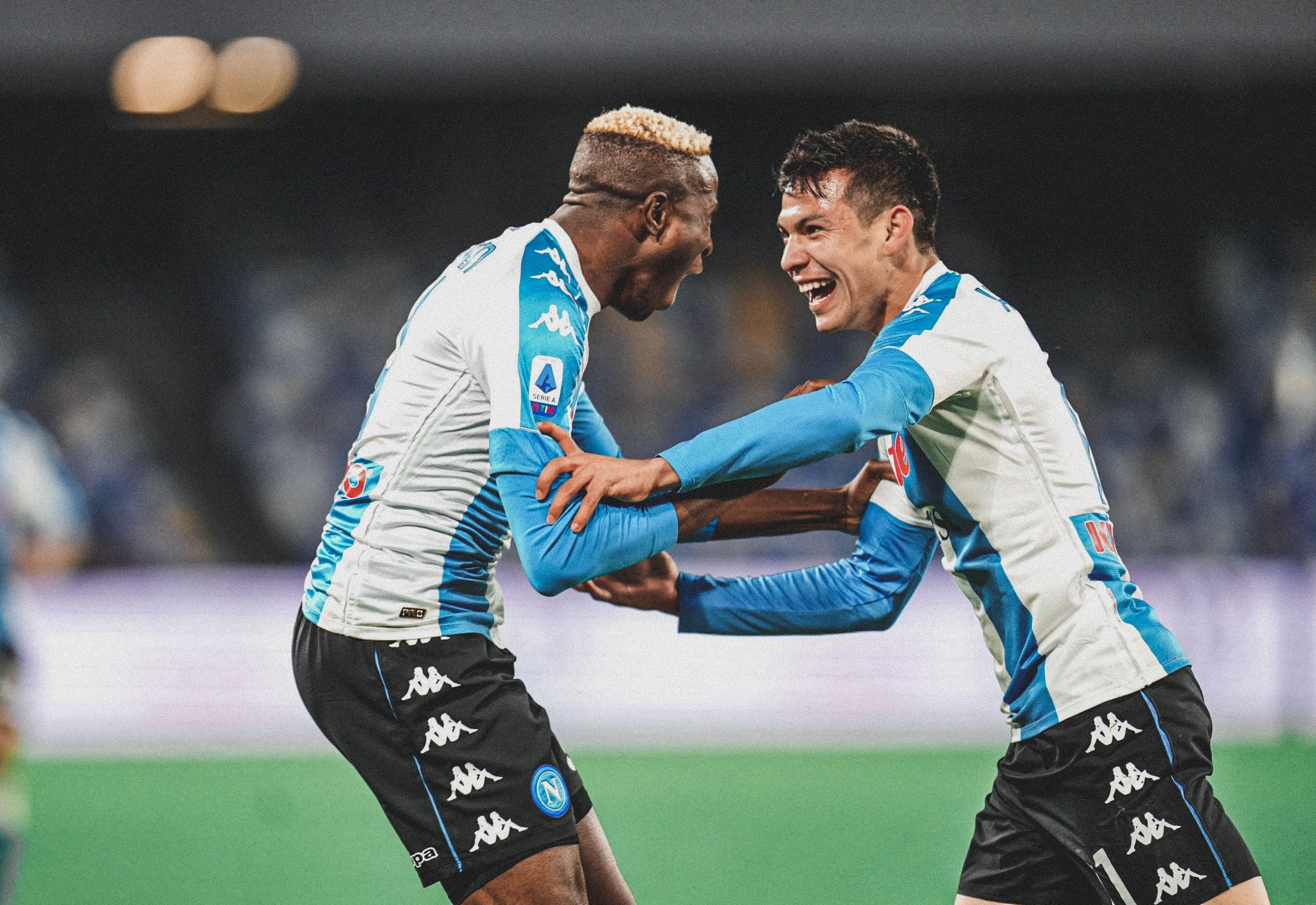 Osimhen Already Proving His Worth At Napoli- Agent