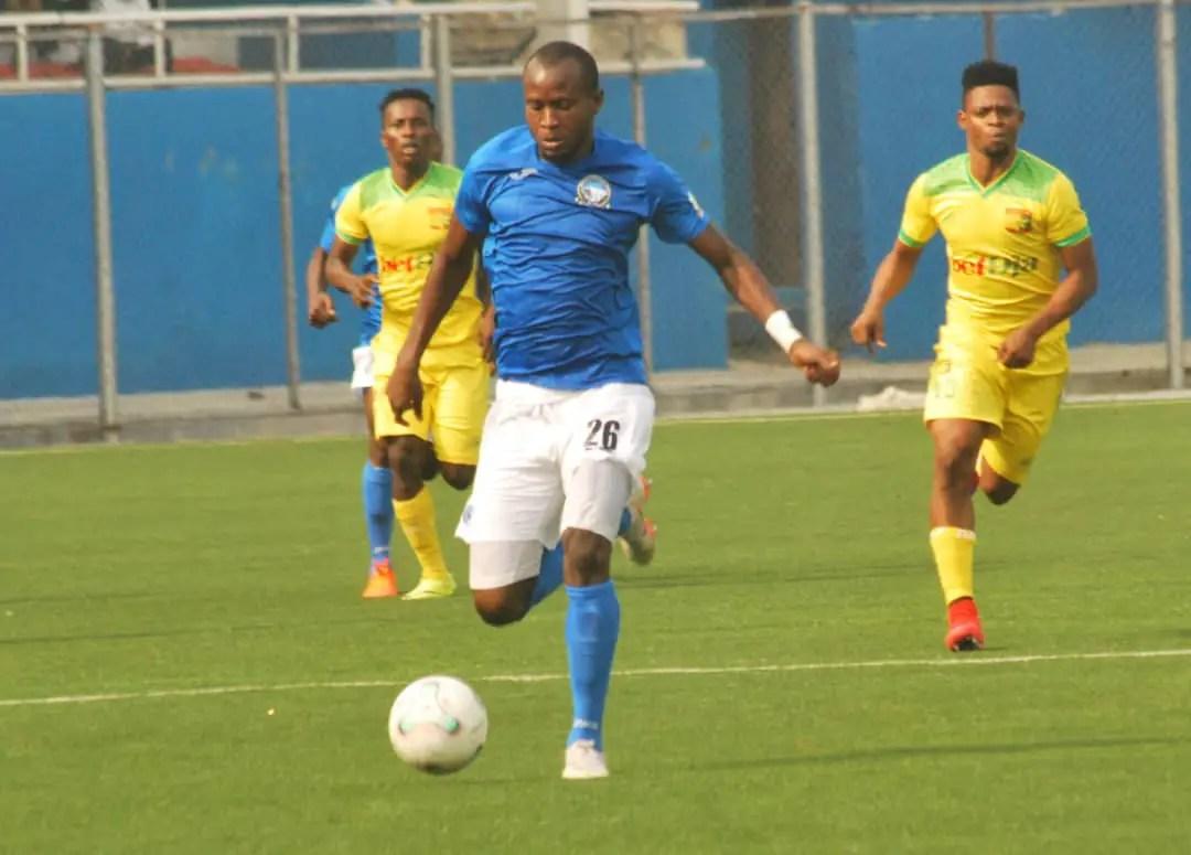 CAFCC: Enyimba Captain Oladapo Out Of  Crucial Clash Vs Orlando Pirates Through Suspension