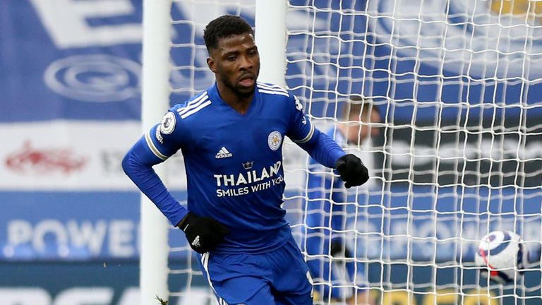 Agali Advises Iheanacho On Maintaining Goal-Scoring Form