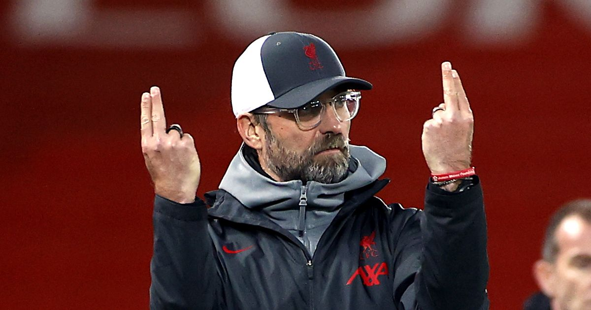 It's Top Four Finish Or Nothing – Klopp