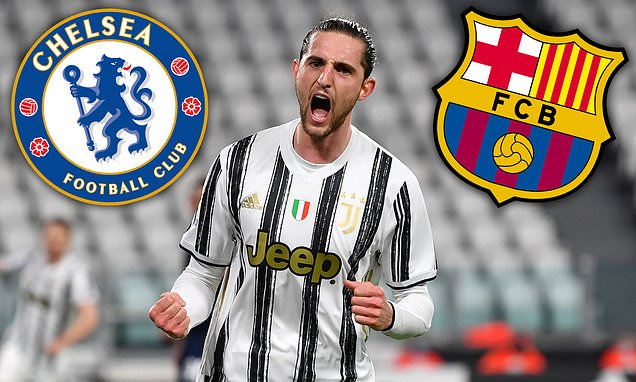 Chelsea Join Barcelona In Race For Juve's £17m-Rated Rabiot