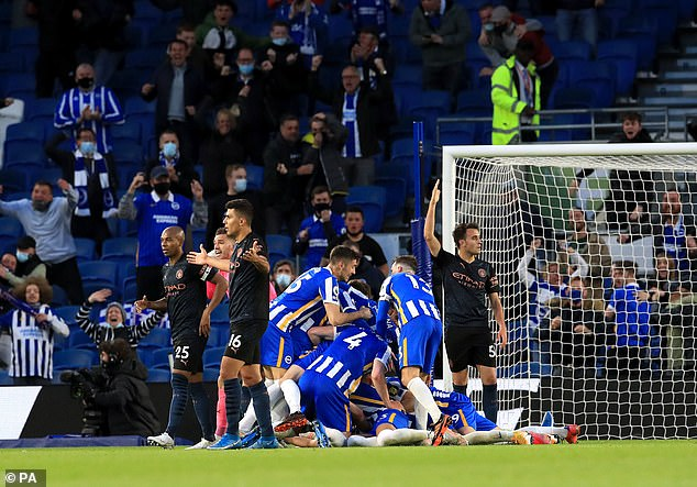 Guardiola Admits Concerns Ahead UCL Final After City's Loss To Brighton