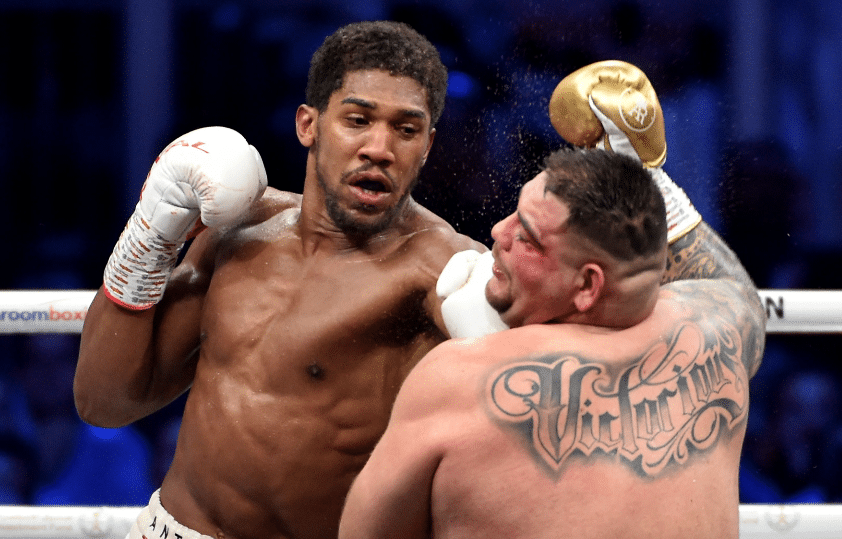 Joshua Claims He Chose Not To Stop Andy Ruiz Jr To Prove A  Point