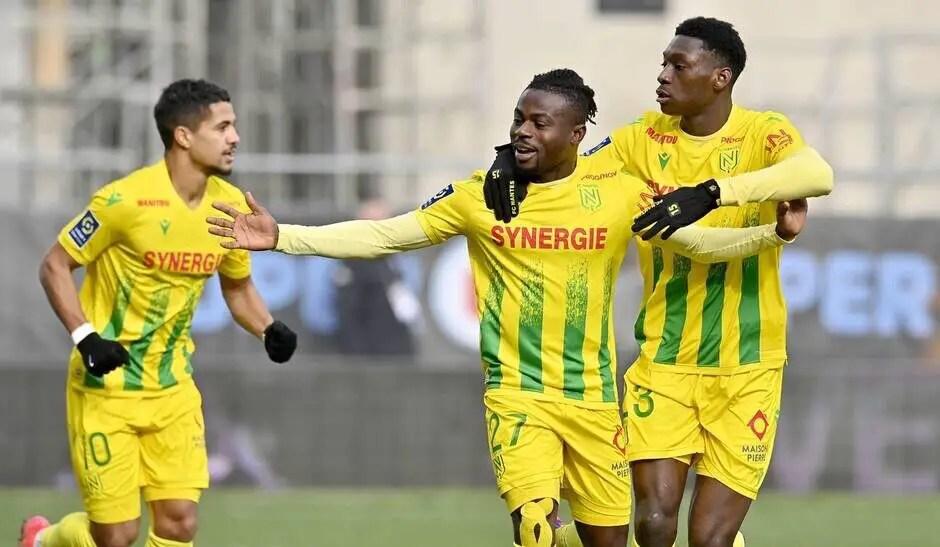 Ligue 1:  Simon Grabs Assist In Nantes'  Derby Win Over  Bordeaux