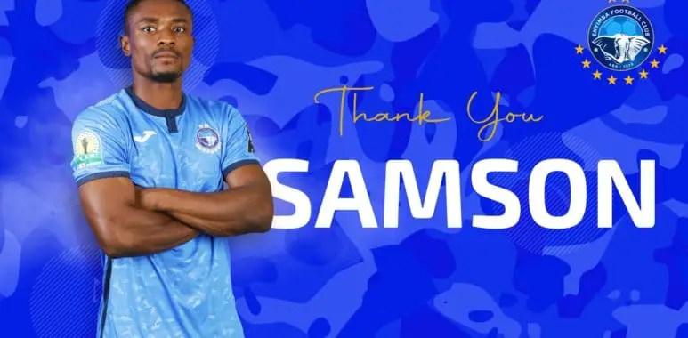 Enyimba Forward  Samson Obi Joins Libyan Club Alnser On Two-Year Deal
