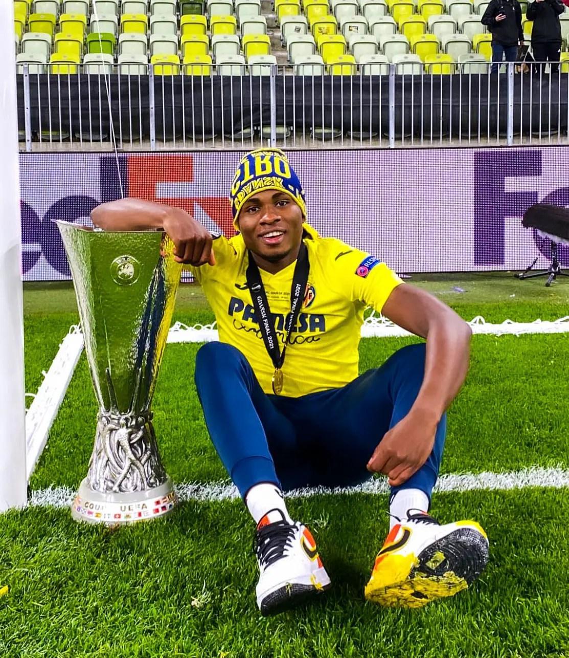 Fury, Lineker, P-Square Star Congratulate Chukwueze, Villarreal Teammates On Europa League Win Vs Man United