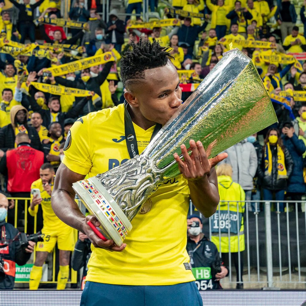 Chukwueze Savours Villarreal's Europa League Title Win