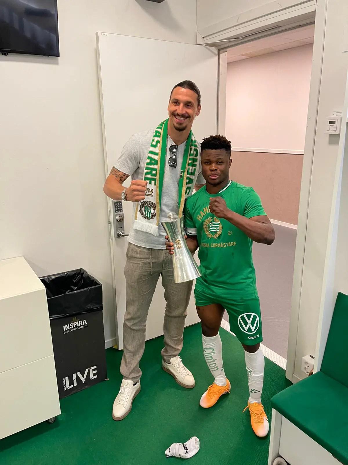 Amoo: Ibrahimovic Motivated Us To Win Swedish Cup Final